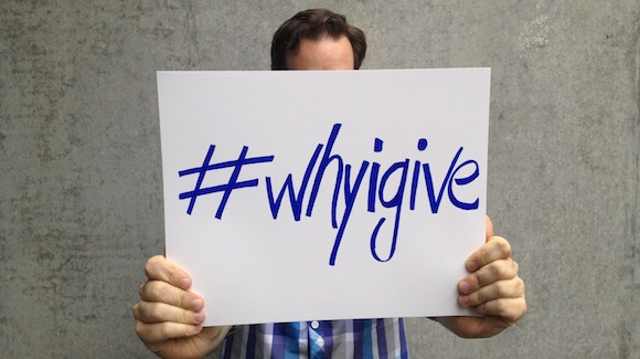 VIDEO: Why I Give