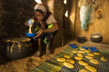 "10:48 a.m. — Since she was young, Badariya's primary responsibility has been to make corn or millet pancakes to sell to her fellow villagers. ""I really loved school, but my parents do not want me to go,"" she says. ""When I was seven, my cousin took me to school once. But when I came back home, my father said I could not go back. That day I was very sad and didn't eat all day."""