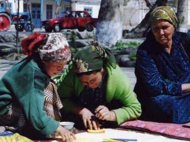 Women and girls in kyrgyzstan